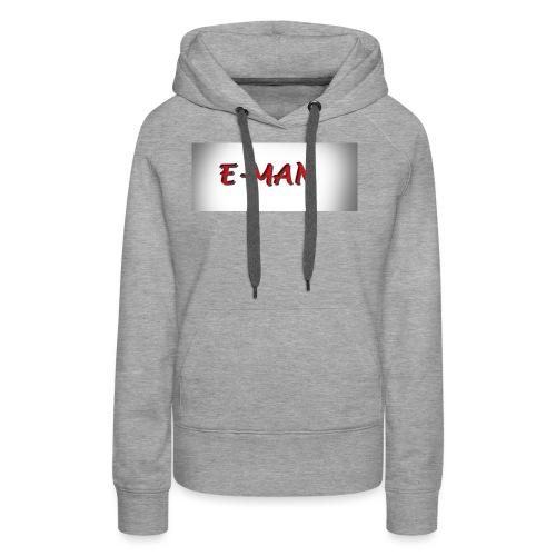 E-MAN - Women's Premium Hoodie