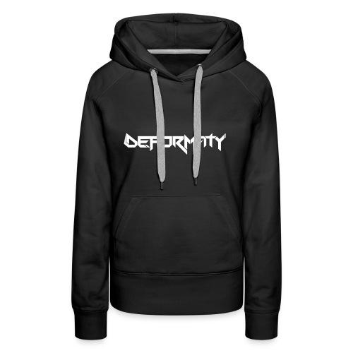 Deformaty Logo - Women's Premium Hoodie