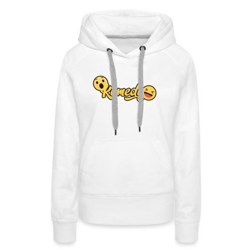 Komedy Basic Logo - Women's Premium Hoodie