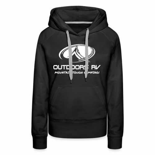 Front Logo Only Outdoors RV - Women's Premium Hoodie