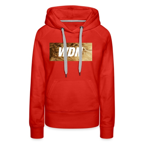 WDN boi - Women's Premium Hoodie