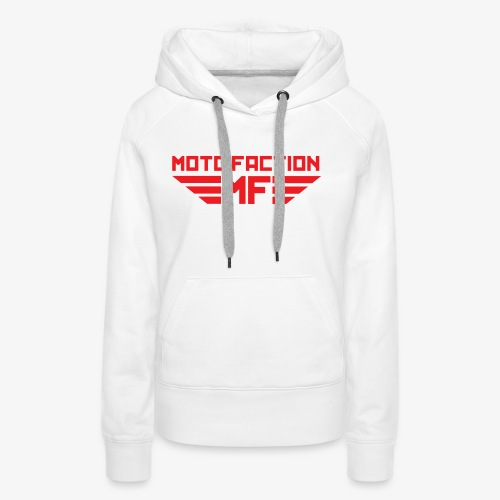 MotoFaction Logo - Women's Premium Hoodie