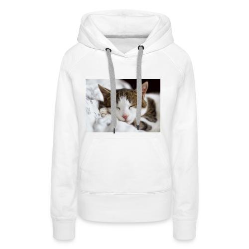 women's Cat T-shirt - Women's Premium Hoodie