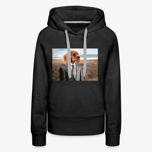 Funny Dog - Women's Premium Hoodie