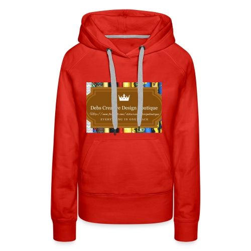 Debs Creative Design Boutique with site - Women's Premium Hoodie