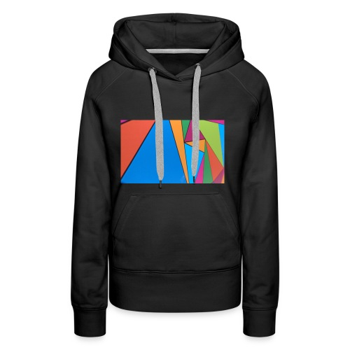 Colorful Geometry - Women's Premium Hoodie
