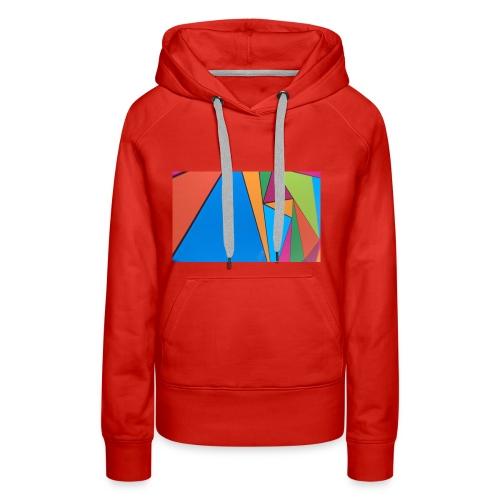 Colorful Geometry - Women's Premium Hoodie