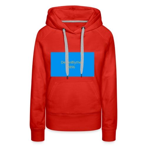 Devon t shirt - Women's Premium Hoodie