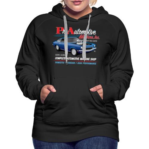 ProAutoTeeDesign062317fin - Women's Premium Hoodie
