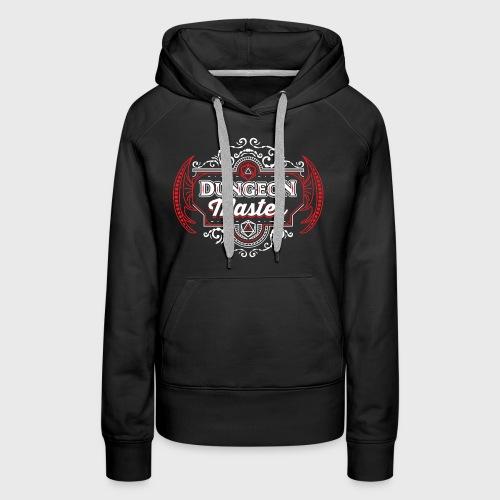 dungeon master filigree fantasy gift d20 shirt - Women's Premium Hoodie