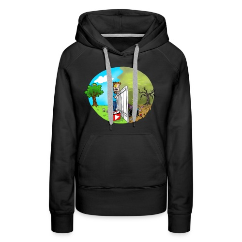 FUNnel Vision THE OTHER SIDE (Adults) - Women's Premium Hoodie