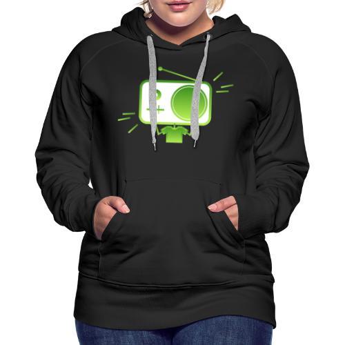 MusiqHead Green Ver 4 - Women's Premium Hoodie