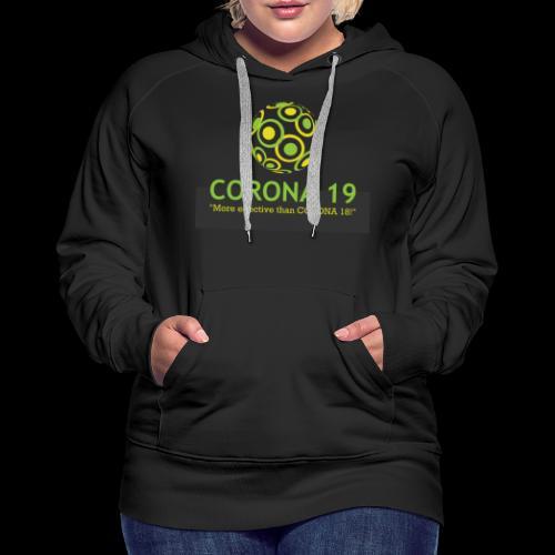 CORONA VIRUS 19 - Women's Premium Hoodie