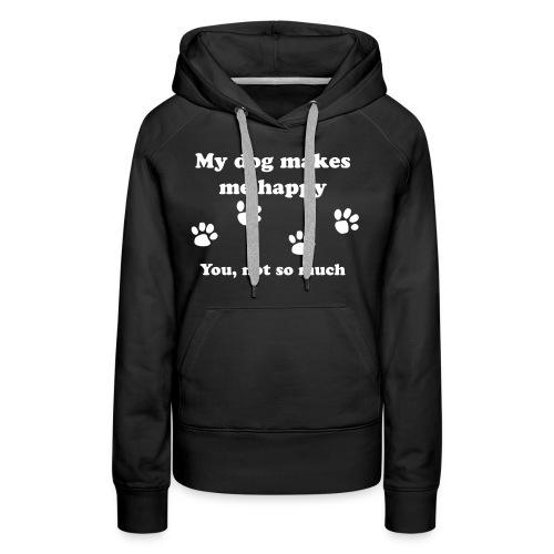 dog_happy - Women's Premium Hoodie