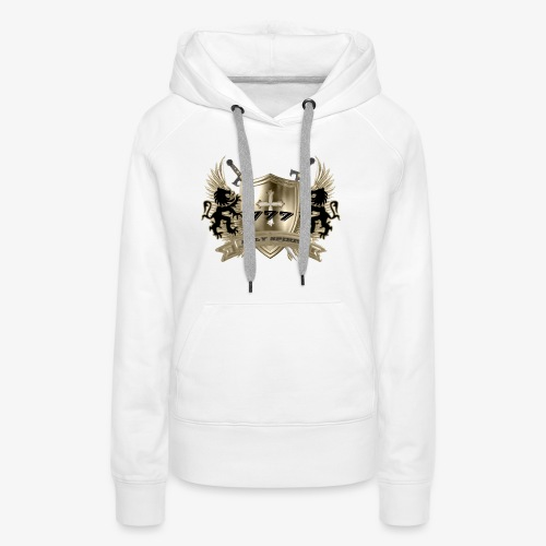 HOLY SPIRIT GOLD SHIELD - Women's Premium Hoodie