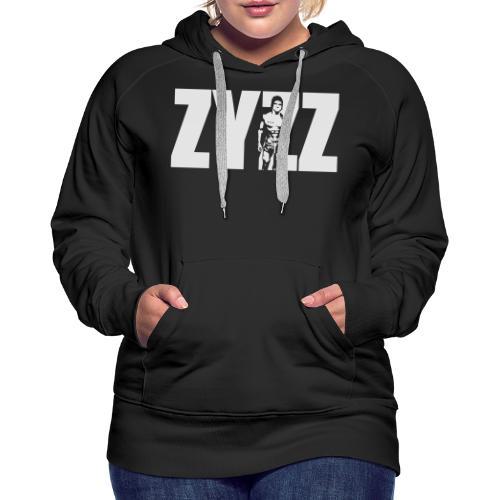Zyzz Stand Text - Women's Premium Hoodie
