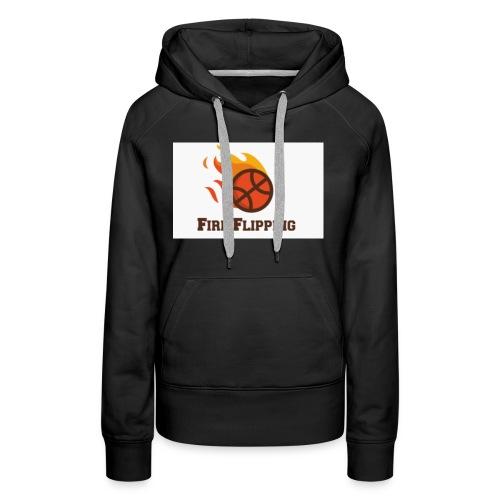 Fire hoodie - Women's Premium Hoodie