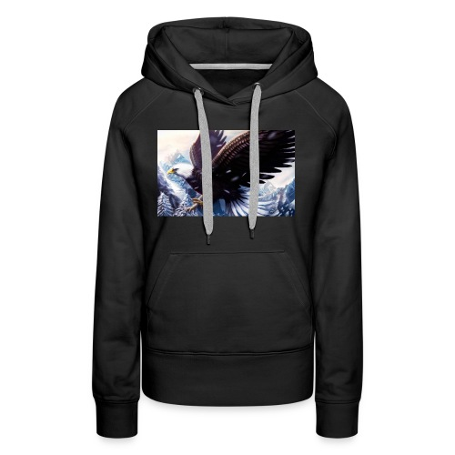 Art of the eagle - Women's Premium Hoodie