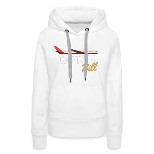 Captain Bill Avaition products - Women's Premium Hoodie