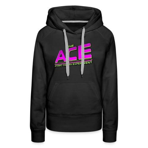 The ACE: Atomic Cinema Experiment - Women's Premium Hoodie