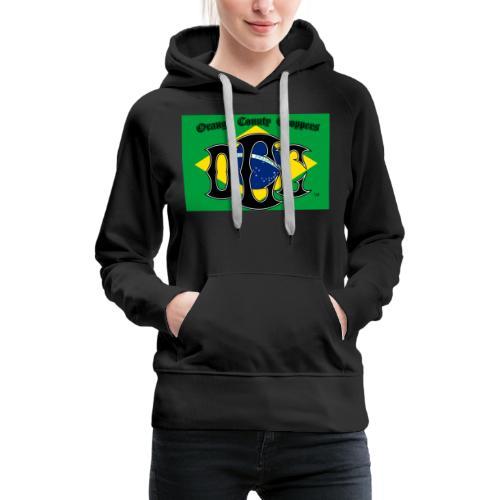 OCC Brazil - Women's Premium Hoodie