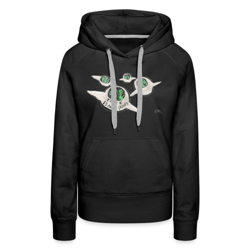 Tours of Planet Stupid - Women's Premium Hoodie