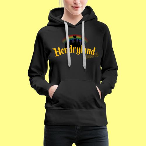 HENDRYLAND logo Merch - Women's Premium Hoodie