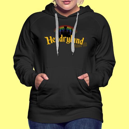 HENDRYLAND logo Merch - Women's Premium Hoodie