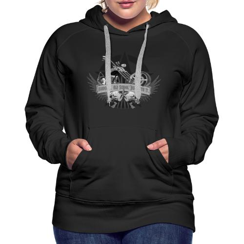 Hardcore. Old School. Deal With It. - Women's Premium Hoodie