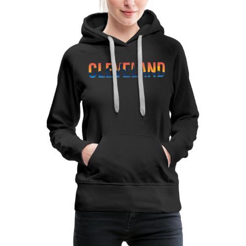 Cleveland Ohio Pride Illustration - Women's Premium Hoodie