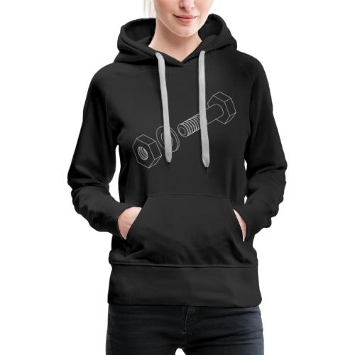 Nut, Washer, Bolt. - Women's Premium Hoodie