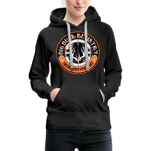 Big Buck Registry Deer Hunt Podcast - Women's Premium Hoodie