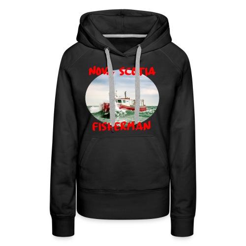 Nova Scotia Fisherman Red - Women's Premium Hoodie