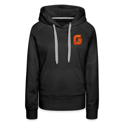 Classic Small GG Lad Logo - Women's Premium Hoodie