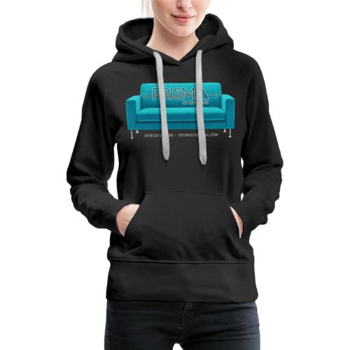 Teal Couch - Women's Premium Hoodie