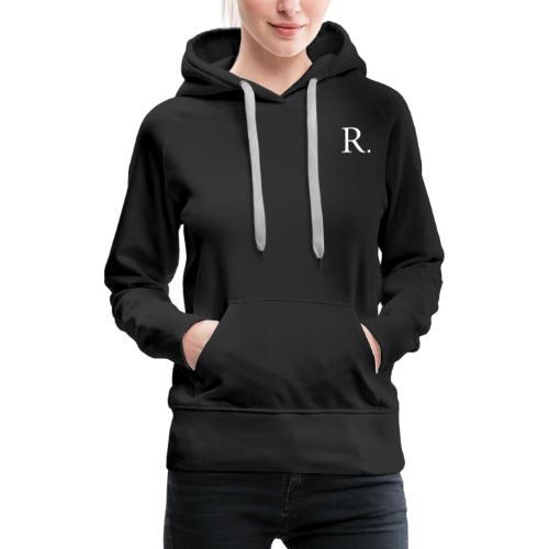 Reckoner classic (white) - Women's Premium Hoodie