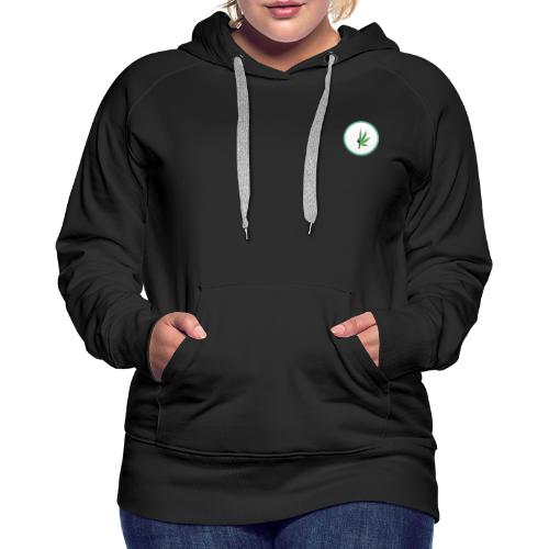 iCannGreen Logo - Women's Premium Hoodie