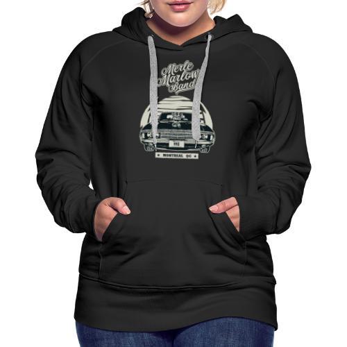 MMB Muscle Car - Women's Premium Hoodie