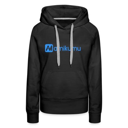 Amikumu Logo Blue - Women's Premium Hoodie