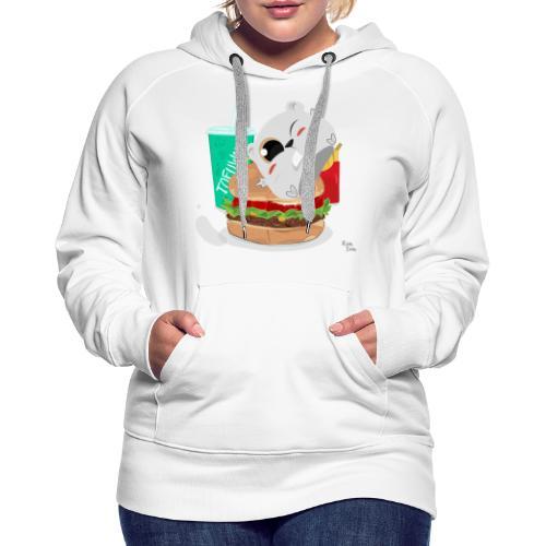 Fast Food Sun - Women's Premium Hoodie