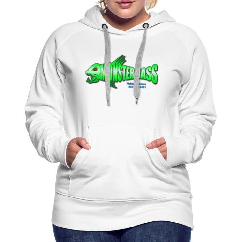 Monster bass fishing charters - Women's Premium Hoodie