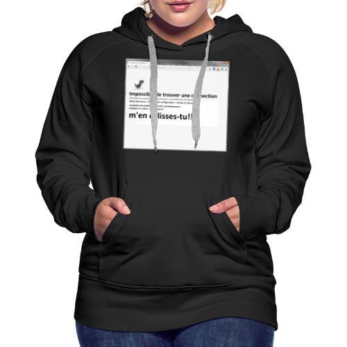 chrash chrome - Women's Premium Hoodie