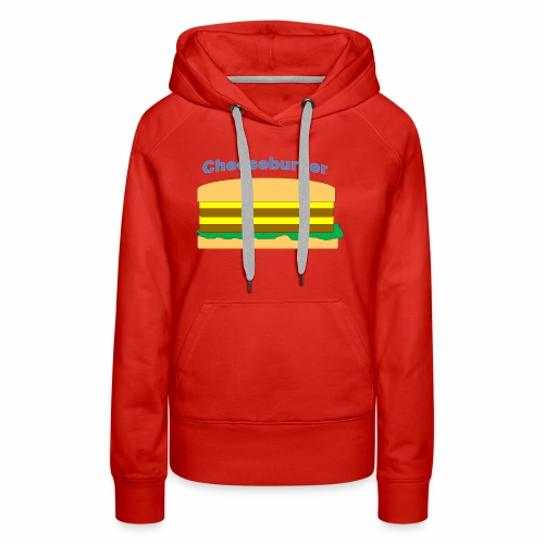 cheeseburger - Women's Premium Hoodie