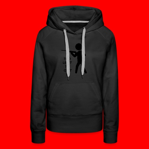 OxyGang: Too Legit To Quit Products - Women's Premium Hoodie