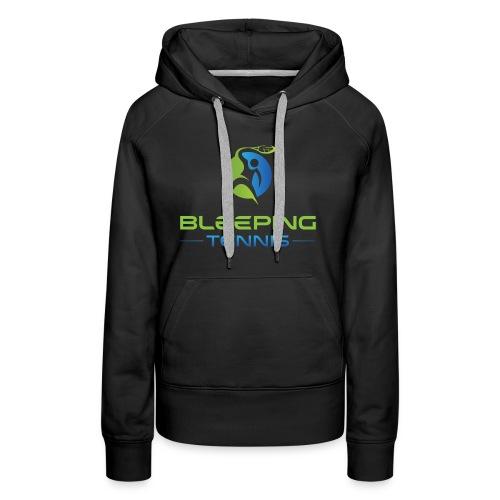 Bleeping Tennis - Women's Premium Hoodie