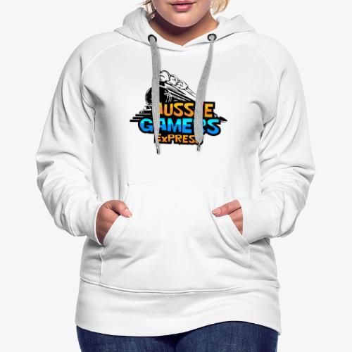 AUZZIE GAMERS ExPRESS - Women's Premium Hoodie