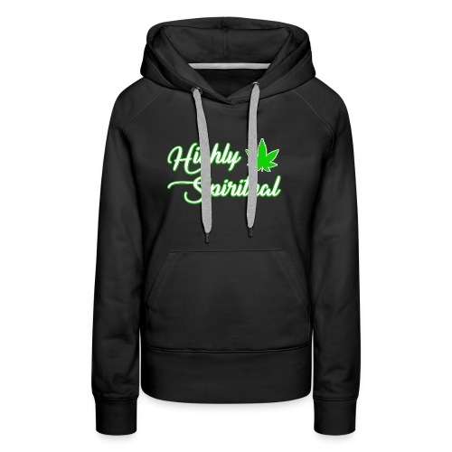 Highly Spiritual Logo - Women's Premium Hoodie