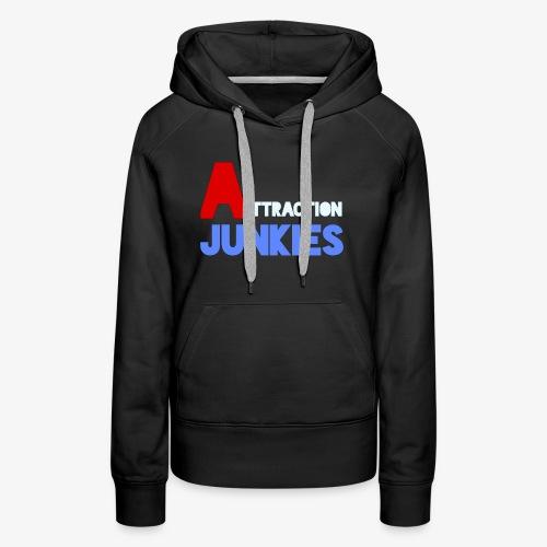 Attraction Junkies Merch - Women's Premium Hoodie