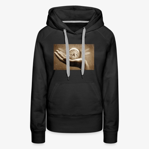 time flies and waits for nobody - Women's Premium Hoodie