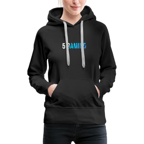 5 Gaming Blue - Women's Premium Hoodie